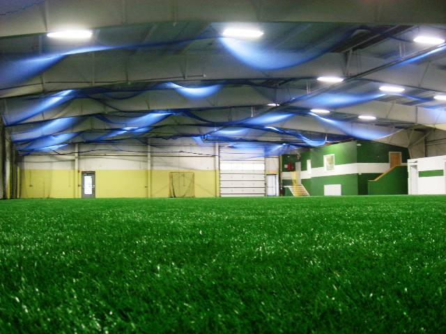 Home Grown Indoor Sports field