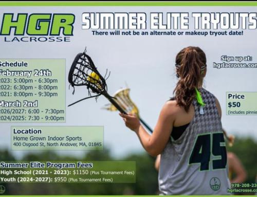 Girls Summer Elite Lacrosse Tryouts