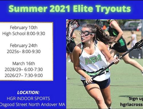 Reminder: High School Girls Summer Elite Tryouts